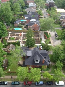 Garden Expansion from Above