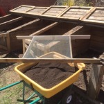 Compost as a result of Harvesting